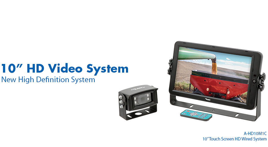 "A-HD10M1C CabCAM™ 10"" HD System"