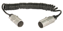 A-CC523: Coiled Trailer Cable
