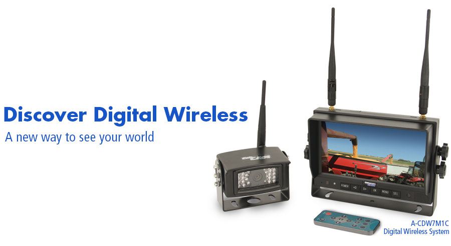 A-CDW7M1C Digital Wireless System