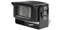 110 degrees of viewing angle and 28 infrared illuminators for night vision up to 32 feet.